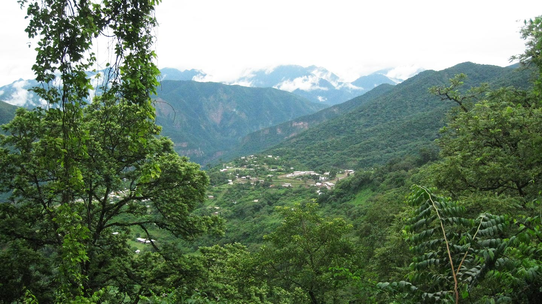 Pueblos de las Yungas
